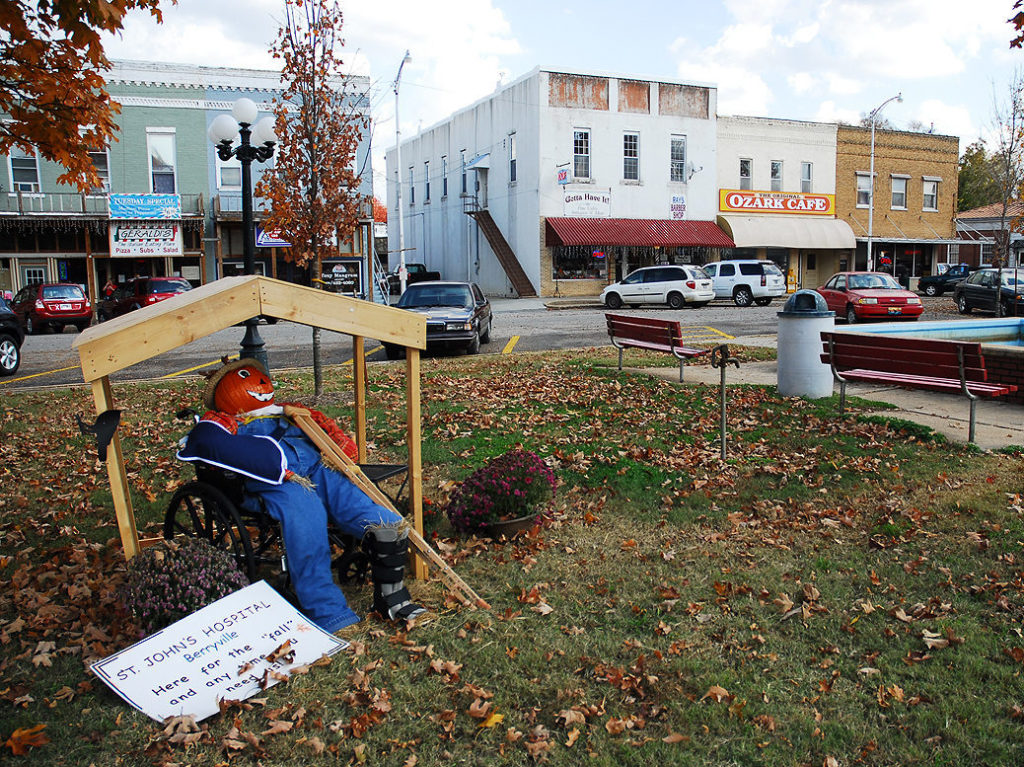 The Historic Berryville Public Square Offers Quaint, Small-Town Atmosphere For Visitors