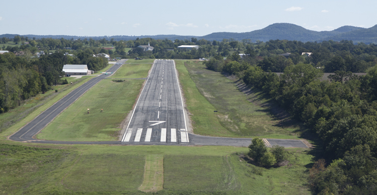 Carroll County Airport Runway Welcomes Pilots To Berryville