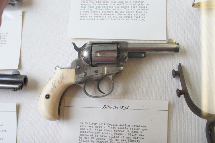 Famous Gunfighters' Handguns On Display At Berryville Museum