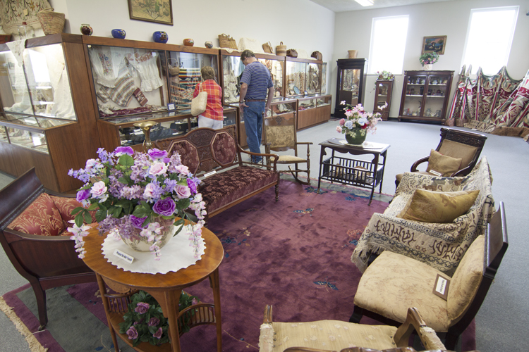 The Saunders Museum Displays Treasures Collected By Col. Saunders