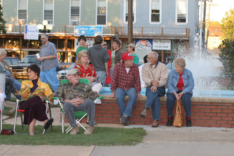Residents Turn Out For Events, Parades and Live Music On The Berryville Historic Downtown Square