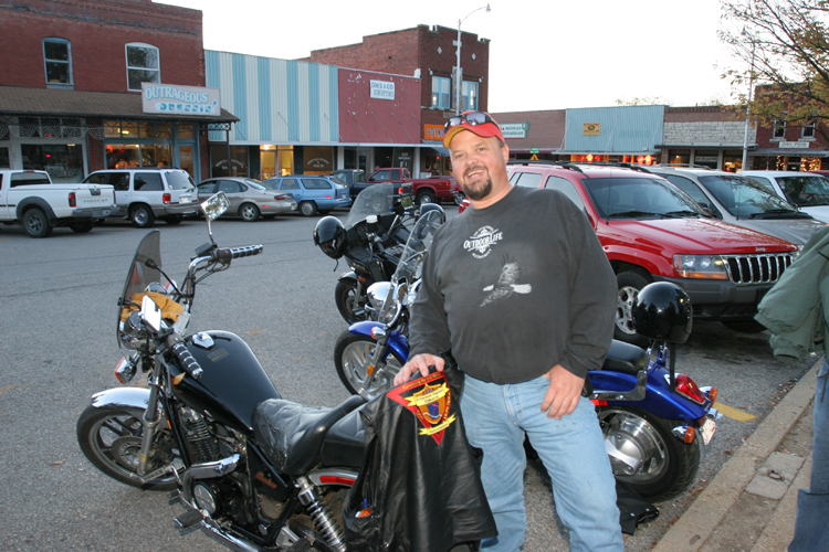 Historic Downtown Berryville Public Square and Businesses Surrounding It Draw Motorcycle Riders From