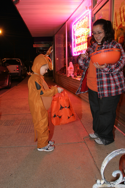 Downtown Berryville Square Merchants Put On Halloween Trick-Or-Treat Festivities Every October