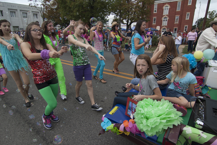 Youth Groups Always Participate In Local Hometown Parades