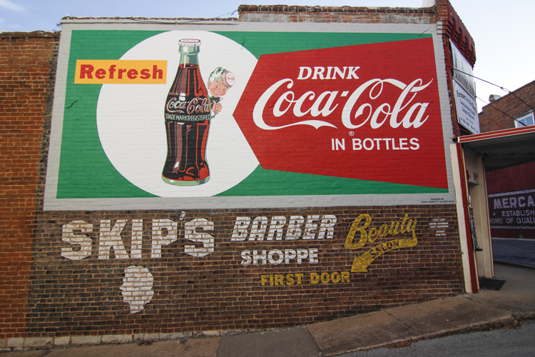 Restored Vintage Advertising Murals: Old Ads Bring New Life To Downtown Buildings